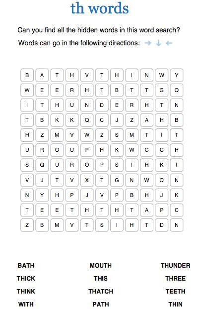 phonics word searches for foundation and ks1 phonics