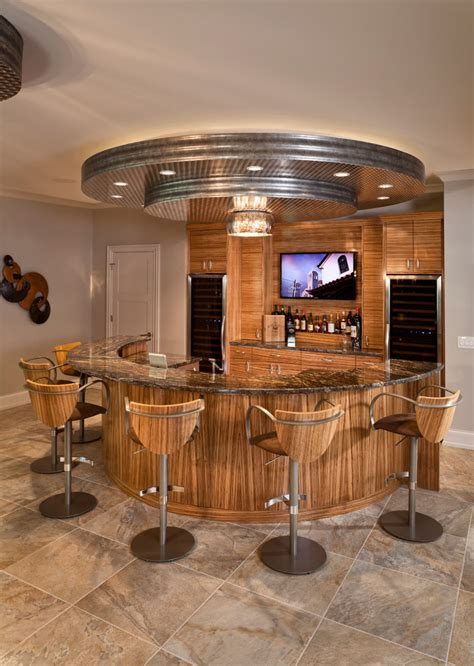 modern  home bar wooden furniture  house decoration ideas