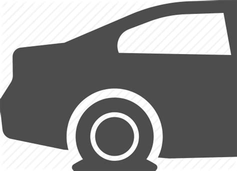 Accident, Car, Flat Tire, Tire Icon