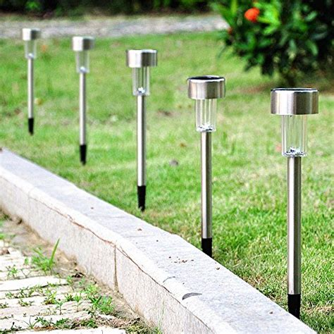 how do solar path lights work sogrand 8pcs pack solar lights outdoor 4color stainless