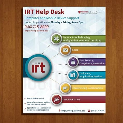 create  flyer  communication template  stanford