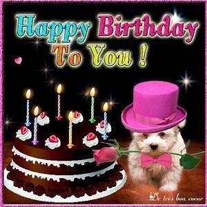 Cute Happy birthday card Ecard for my lovely friend ♥ Send ...