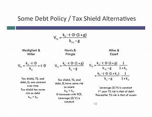 Tax Shield Berechnen : equity valuation pdf ~ Themetempest.com Abrechnung