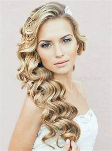 long wedding hairstyles hair down wavy wedding hairstyle Hairstyles for weddings