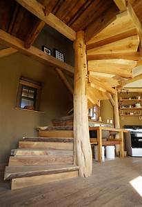 Diy, Wooden, Spiral, Staircase, Design, How, We, Built, It