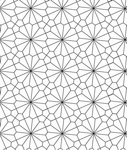 Tessellation Patterns Coloring Tessellations Pattern Pages Geometric