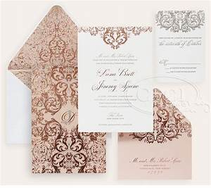 luxury wedding invitations by ceci new york our muse With rose gold wedding invitations online