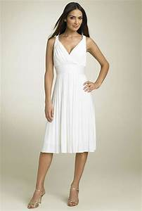 Short casual wedding dresses iris gown for White casual wedding dress