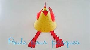 Poule Pour Paques : bricolage de p ques pour enfant fabriquer une poule en ~ Zukunftsfamilie.com Idées de Décoration