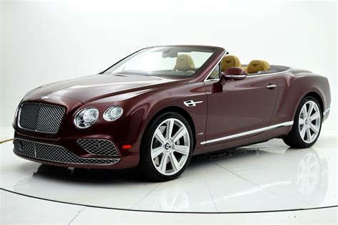 Used 2016 Bentley Continental Gt W12 Convertible For Sale