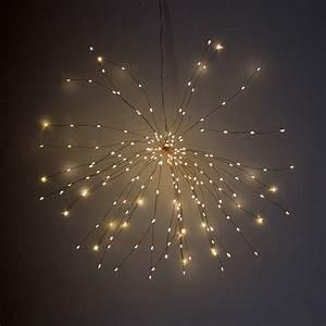 Indoor/Outdoor LED Starburst Light – Silver or Copper