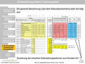 Aushub Berechnen : ppt grundlagen baubetrieb thema klausuraufgabe als bung zur angebotskalkulation powerpoint ~ Themetempest.com Abrechnung