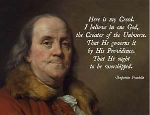 Founding Father... Ben Franklin Memorable Quotes