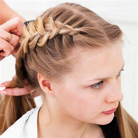 braids for thin short hair hair styling 31 cute braided