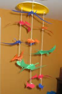 preschool crafts for pteranodon dinosaur mobile craft