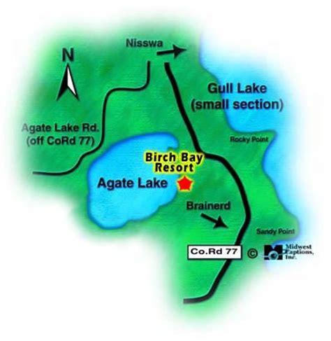 Agate Lake | MN Lake Resorts | Lake Maps | Brainerd MN