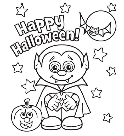 halloween coloring pages printable  coloring home
