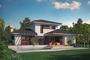 les 25 meilleures idees de la categorie maison cubique sur With attractive plan de maison a etage 6 la maison plain pied moderne archzine fr