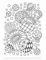 Colouring Easy Doodle Abstract Pages Sample Tigerlynx Books Include sketch template