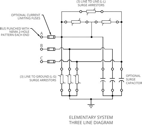 3 phase surge arrester wiring diagram 37 wiring diagram