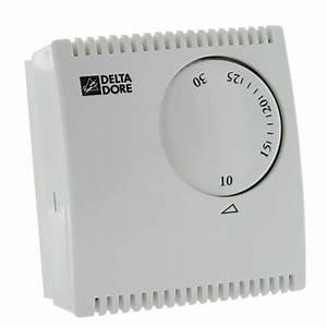 Thermostat D Ambiance Filaire : delta dore thermostat d 39 ambiance m canique filaire tybox ~ Melissatoandfro.com Idées de Décoration