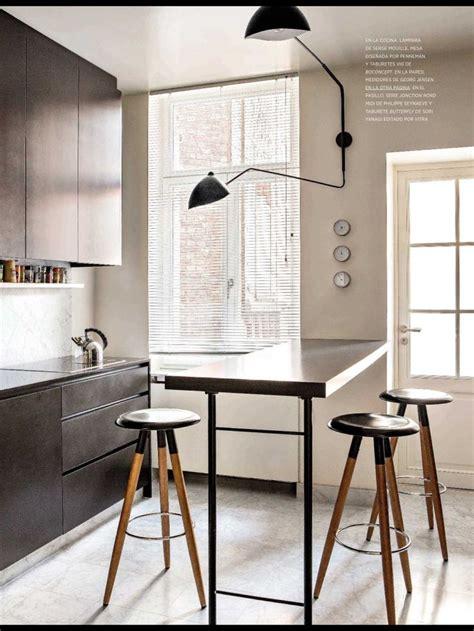 table de cuisine escamotable bar in keuken interiorinsider nl