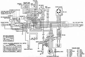 Honda Xl350 Electrical Wiring Diagram  U2013 Circuit Wiring