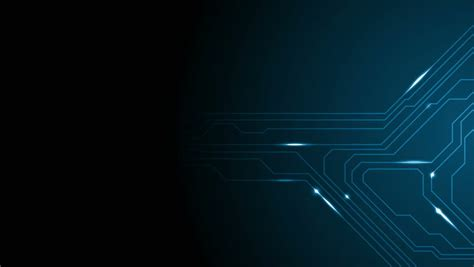 Animated Technology Wallpaper - blue tech circuit board technology animated background