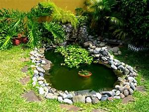 Jardines Pequeños con Estanque