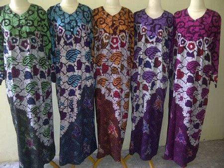 daster klok katun obral baju daster batik murah 18ribu