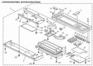 Savin 8025  8025e Parts List And Diagrams Manual