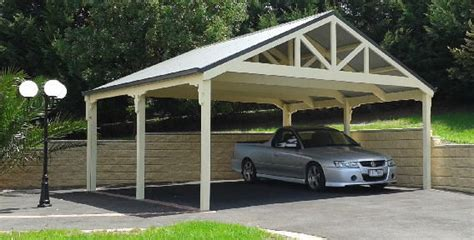 Timber Car Ports by Truss Carport Kits Adding Style And Class To Your Home