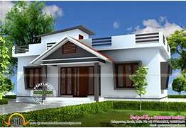 Small House In 903 Square Feet Kerala Home Design And Floor Plans Small House Plans Small Vacation House Plans 3 Bedroom House Plans Contemporary Single Storey House Plan Home Design Small House Elevations Small House Front View Designs