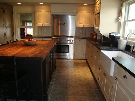 white kitchen cabinets with butcher block countertops furniture stunning kitchen with butcher block countertop 2204