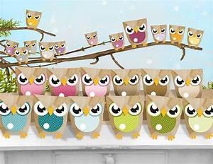 Adventskalender Grundschule Ideen : adventskalender eulent ten owl advent calendar via basteln pinterest ~ Somuchworld.com Haus und Dekorationen
