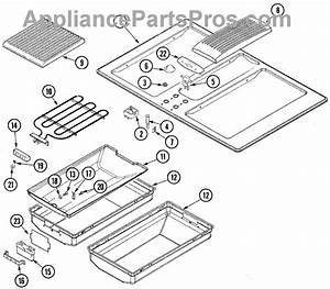 Parts For Jenn-air Jed8230ads  Top Assembly Parts