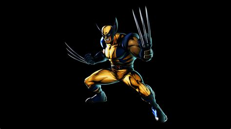 Animated Wolverine Wallpapers - wolverine on black background 8k uhd 16 9 7680x4320