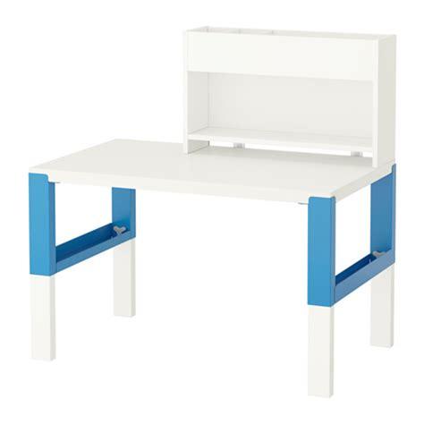bureau bleu ikea påhl bureau avec élément complémentaire blanc bleu ikea