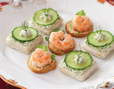 canape filling ideas cucumber dill canapés recipe