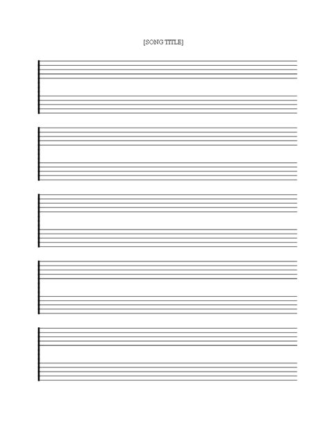 Music paper download template as pdf tags penultimate staff music. Free printable Music Staff Sheet 5 double lines - Download this free printable Blank Music S ...