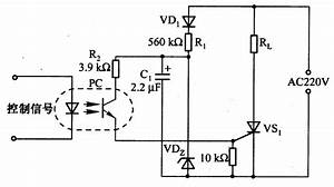 The Thyristor Trigger Circuit Composed Of Photocoupler