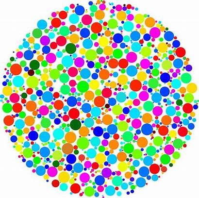 Clipart Circle Colorful Fractal Dot Transparent Svg