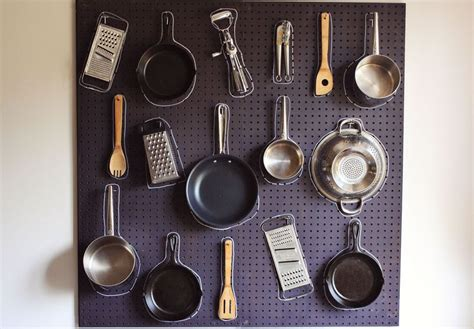 How To Build Your Own Homemade Kitchen Pegboard
