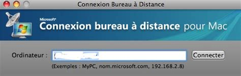 bureau distant mac utiliser windows sur mac sans l 39 installer