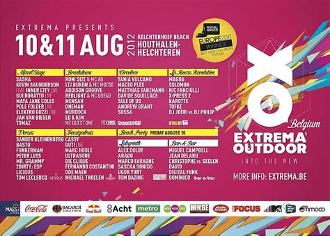 Nic Fanciulli  Live At Extrema Outdoor Festival (belgium