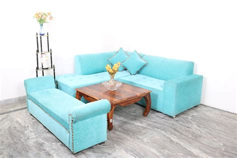 Used Settee For Sale by Blue L Shape Sofa With Settee Used Furniture For Sale