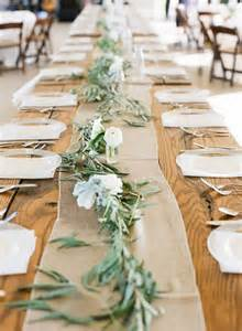 country wedding table decorations wedding trends 12 table runners centerpiece decoration ideas