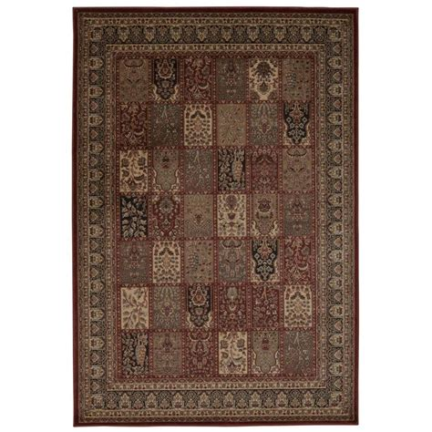 overstock runner rugs nourison overstock ararat burgundy 7 ft 10 in x 10 ft 6