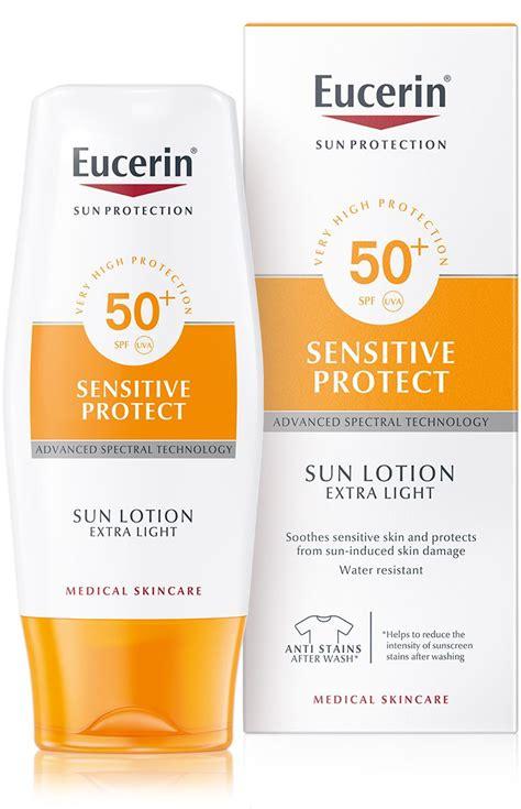 eucerin sun lotion extra light spf 50 sun lotion extra light photoaging control spf 50 anti
