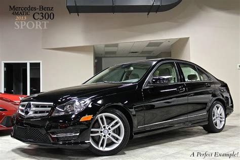 Truecar has over 854,000 listings nationwide, updated daily. New 2013 Mercedes-Benz C300 4Matic Sport For Sale ($34,800) | Chicago Motor Cars Stock #C9825